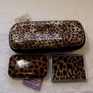 Accessories - LEOPARD PRINT Lot of 3 New Items as seen